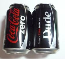 Coca Cola Zero can SINGAPORE Share With DUDE Can Coke 2015 Collect
