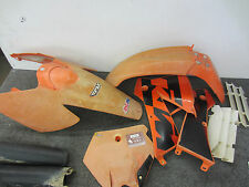 2004 KTM 125SX Plastic Kit / Fenders Radiator Shouds - 125 SX