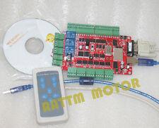 4 Axis USB driver del motore passo-passo spaccata Board + MANIGLIA Controller per CNC Router