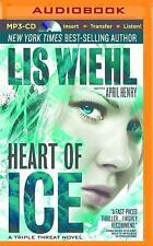 Triple Threat: Heart of Ice 3 by Lis Wiehl and April Henry (2015, MP3 CD,...