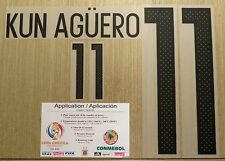 KUN AGÜERO Argentina #11 Name Number Professional Size - Copa America 2016