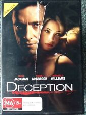 DECEPTION Hugh Jackman DVD # A291