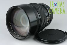 Canon FD 135mm F/2 Lens for FD Mount #9855F5