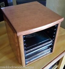 CD Holder, Desktop Style, Solid Oak and Pine