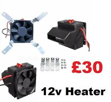 12v Camper and Boat Heater - 300w Adjustable heat - Low power self build project