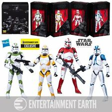 Star Wars Black Series ORDER 66 TROOPER 6in Action Figure Set EE Excl Hasbro