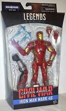 "Iron Man Mark 46 Marvel Legends Captain America Civil War 6"" Giant Man BAF New"