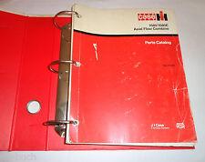 Ersatzteilliste Parts Catalog Case IH Axial-Flow Combine 1680 / 1680 E 1984