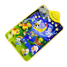 Baby Kids Musical Carpet Animal Concert Crawl Touch Play Mat Toy Gift Blanket