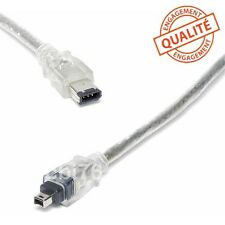 Cable video de liaison camescope/PC DV firewire i.link 6/4 comp.SONY VMC-IL4615