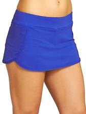 NWT Athleta Kata Swim Skirt 2 /Skort, Caspian Blue SIZE S #153149