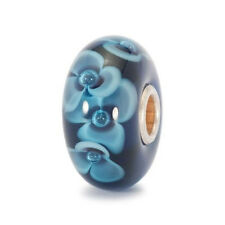 Trollbeads original AUTHENTIC FIORE DI MEZZANOTTE - MIDNIGHT FLOWER 61419
