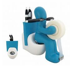 Kito Design Butt Station Blue Tape Pen Holder Office Desk Organizer Funny Gift
