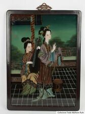 China 20. Jh. Malerei - A Chinese Reverse Painting on Glass - Cinese Chinoise