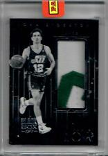 2016 Panini Noir Black Box JOHN STOCKTON Jersey Patch Letter 1/1