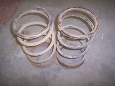 79-83 DATSUN 280ZX FRONT  COIL SPRINGS  NICE OEM PARTS