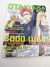 OTAKU USA Magazine DEC 2016  Food Wars, Berserk, Mob Psycho, 91 Days, Kuromukuro