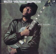 Walter Wolfman Washington - Wolf Tracks - 1988 Rounder Select Blues NEW