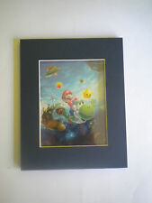 SUPER MARIO GALAXY 2 LIMITED EDITION LASER CEL of 500!!!