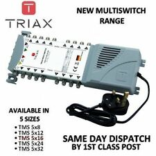Triax NUOVO eco-Gamma-TMS 5 x 16 Satellite Connettore