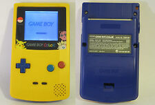 Frontlit Modded Pokemon Yellow Special Edition GBC