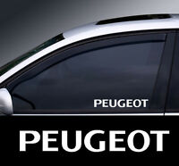 2 x Peugeot Window Decal Sticker Graphic *Colour Choice*(2)