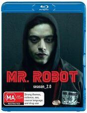 Mr. Robot : Season 2 (Blu-ray, 2017, 3-Disc Set) (Region B) Aussie Release