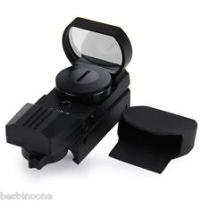 Red Dot Sight Reflex Green Holographic Scope Tactical Rifle Mount 20mm Rails