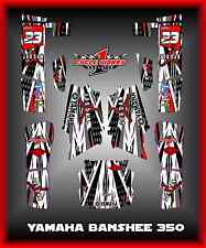 YAMAHA BANSHEE 350 YFM350 SEMI CUSTOM GRAPHICS KIT JORDAN