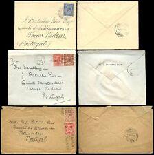 GB kg5 1926-29 couvre pour le Portugal Torres Vedras 2 1 / 2d taux... 3 éléments