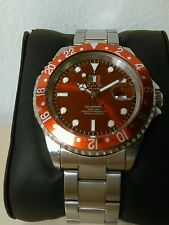 Orologio Submariner o.i.w.red Mm 40 W.r. 20 Atm 2115  Watch 90%new