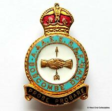 RAF Boscombe Down Station 1940s WW2 MILLER Brooch Badge -Royal Air Force A & AEE