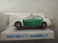 Rietze 50574 Ford Mondeo Ghia Polizei grün/weiß in OVP aus Polizei-Sammlung (*4)