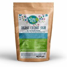Organic Coconut Palm Sugar 1kg • Low GI Sweetener • Rich In Potassium