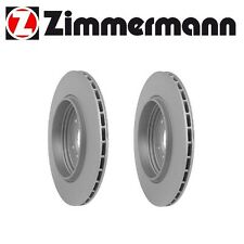 2 Pieces Zimmermann Brake Disc Rotors Rear Made in Germany fits 330i 330ci