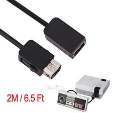 Cordon de câble d'extension 2M pour console Nintendo Mini NES Wii Controller