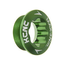 KCNC M20 x P1.0 AL6061 Road Bike Bicycle Cycling Crank Arm Bolt - Green