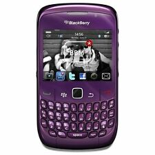 BlackBerry Curve 8520 Unlocked GSM OS 5.0 2MP Camera Phone - Purple - New