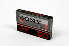 SONY CHF 120 180m (×1): MADE IN JAPAN NEW SEALED BLANK CASSETTE TAPE