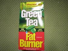 New ! Green Tea Fat Burner 200 Softgels Fast Acting Weight Loss Liquid Soft-Gels