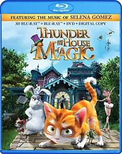 Thunder and the House of Magic 3D (Blu-ray + 3D Blu-ray + DVD) NEW