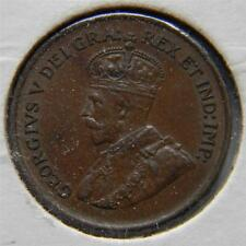 CANADA, George V: 1920 bronze Cent, 1st year of issue; scarce UNC