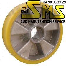 ROUE VULKOLLAN  TRANSPALETTE MANUEL MIC TM 2000 TM2000 HPS 200*50*60 mm