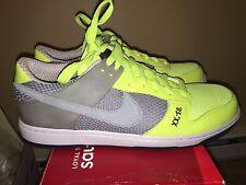 Mens Nike Dunkesto Size 12 Basketball shoes Neon Yellow