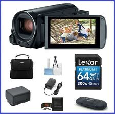 Canon VIXIA HF R800 HD Camcorder (Black) 64GB PRO Bundle-Canon Authorized Dealer