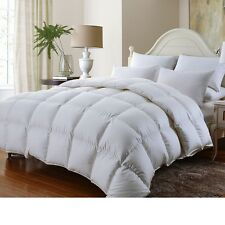 FULL / QUEEN Luxurious HUNGARIAN GOOSE DOWN Comforter 1000TC Egyptian Cotton