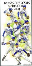 2000 Kansas City Royals MLB Baseball Media GUIDE