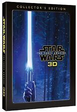 Star Wars: The Force Awakens Collector's Edition 3D + 2D Blu-Ray Set BRAND NEW