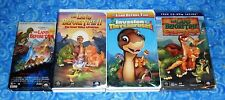 The Land Before Time Lot of 4 VHS Video Tapes in Excellent Tested Condition