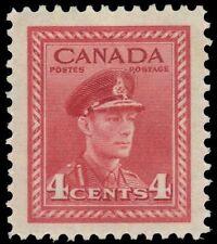 """CANADA 254 - King George VI """"War Effort"""" (pf92415)"""